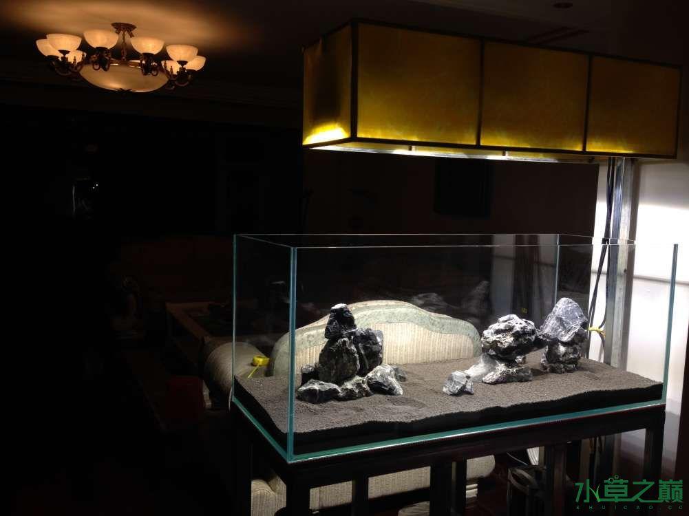 大家帮看看石头摆的怎么样 南昌水族批发市场 南昌龙鱼第2张