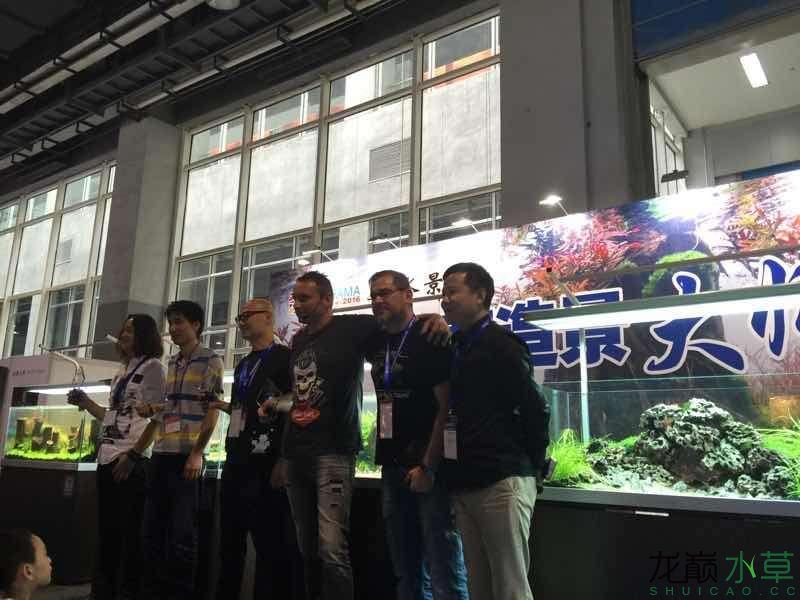 广州展会五位大师的造景秀 南昌水族批发市场 南昌龙鱼第1张