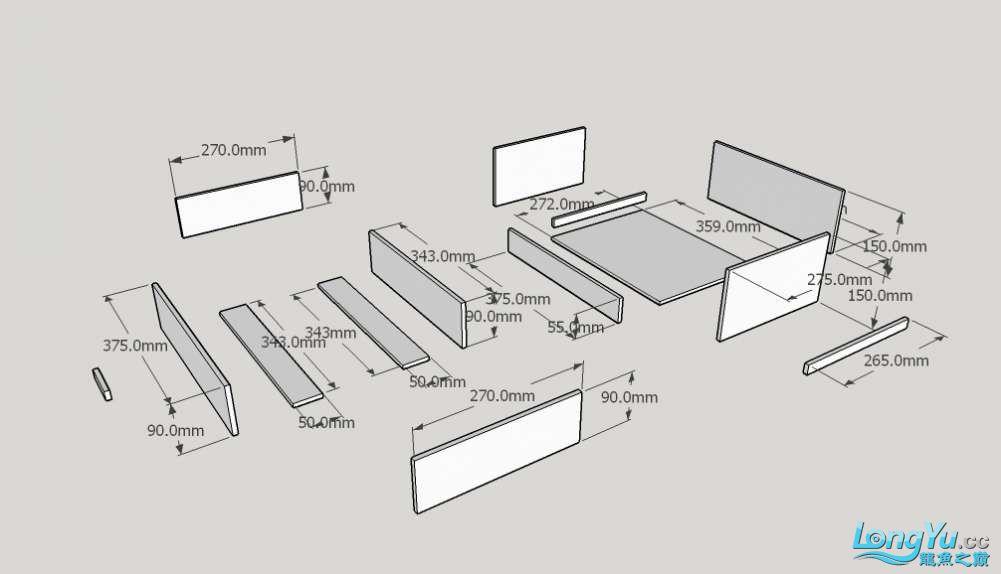 PVC板制作 干湿分离